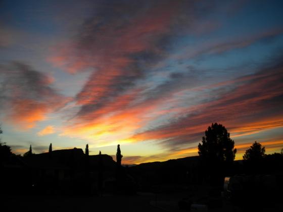 Saint George sunset
